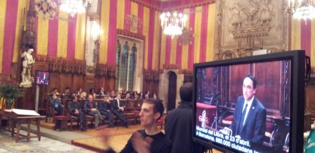 Pregó de la lectura el dia de Sant Jordi, a càrrec d'Albert Sánchez Piñol