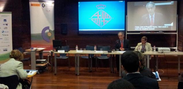 Subtitulació en la signatura del conveni Charter per la Diversitat