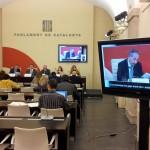 Accesibilidad en las comparecencias para la Ley de Accesibilidad en el Parlamento de Cataluña