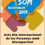 Acte de celebració del Dia Internacional de les Persones amb Discapacitat a Horta-Guinardó