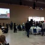 Participamos en la comida de Santa Lucía de la ONCE