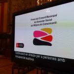 LLIURAMENT DELS PREMIS ALS MITJANS DE COMUNICACIÓ 2014