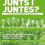 INTERPRETACIÓ EN LLENGUA DE SIGNES EN L'ACTE CENTRAL DE CAMPANYA MUNICIPALS 2015 D'ICV-EUiA