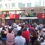 Subtítulos en directo en las fiestas de Sant Cugat