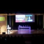 Subtítulos en tiempo real en la entrega de premios Roc Boronat, de la ONCE