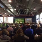 Subtítulos en directo en la asamblea de ICV