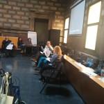 Transcripción en directo en la sesión de participación del PAD Sant Martí