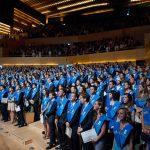 ESADE - Subtítols en directe com a traducció simultània en la graduació