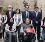 Subtitulació de la reunió del CODISCAT, el Consell de la Discapacitat de Catalunya.