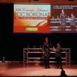 Subtítols en directe, com a mesura d'accessibilitat per a persones sordes, a l'entrega de premis Roc Boronat