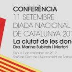 """Subtítulos en la conferencia """"La ciudad de las mujeres"""" a cargo de Marina Subirats"""