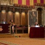 Conferencia de Marina Subirats en el Ayuntamiento, con motivo de la Diada