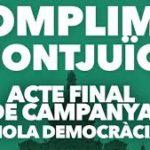 Acto final de campaña Junts pel Sí accesible